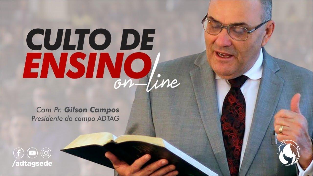 Culto de Ensino ADTAG - 07/07/2020