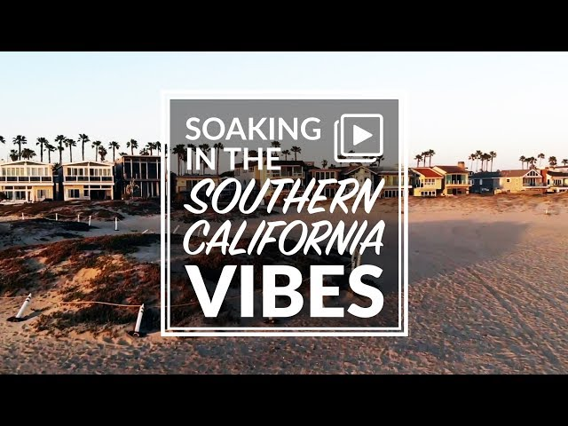 Soaking in the Southern California Vibes - Newport & Laguna Beach California