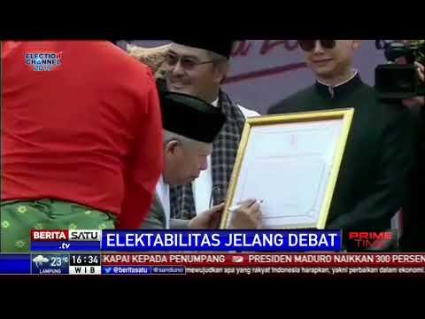 Survei Charta Politika: Jokowi-Amin Masih Unggul Atas Prabowo-Sandi