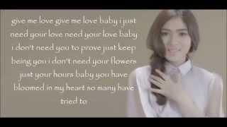 Isyana Sarasvati  -  Keep Being You (with lyrics)