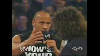 The Rock returns in 2003 (Mick Foley)