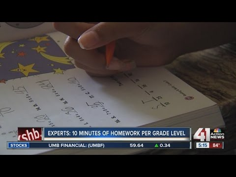 Homework debate questions workload on students