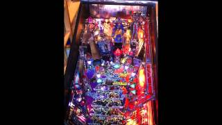 Transformers pro pinball machine gameplay