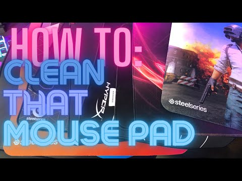 How-To: Cleaning a Mousepad in Four Easy Ways!