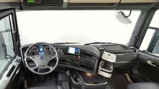 Обзор SCANIA R420. Европейский грузовик, кабина. 9 .