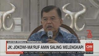 Download Video JK: Jokowi-Ma'ruf Amin Saling Melengkapi MP3 3GP MP4