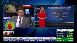 CNBC Squawk on the Street Hurricane Irma Coverage