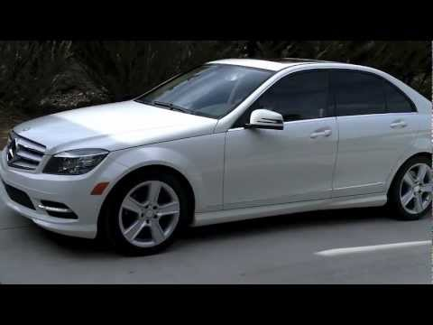 2011 mercedes benz c300 sport start and tour youtube for Mercedes benz 2011 c300 sport