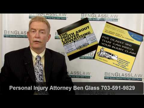 Car Accident Claims - Frequently Asked Questions - Virginia Personal Injury Cases BGL119