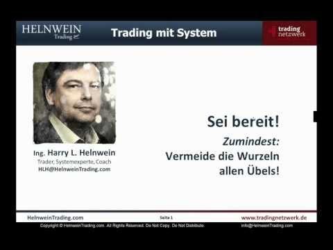 Beim Trading die Wurzeln des Übels vermeiden - HelnweinTrading.com