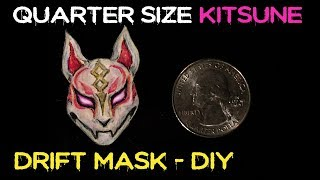 Making a DRIFT MASK the Size of a Quarter (Fortnite Skin DIY) HD