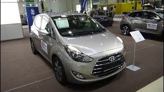 2018 Hyundai ix20 blue 1.6 Trend - Exterior and Interior - Autotage Hamburg 2018