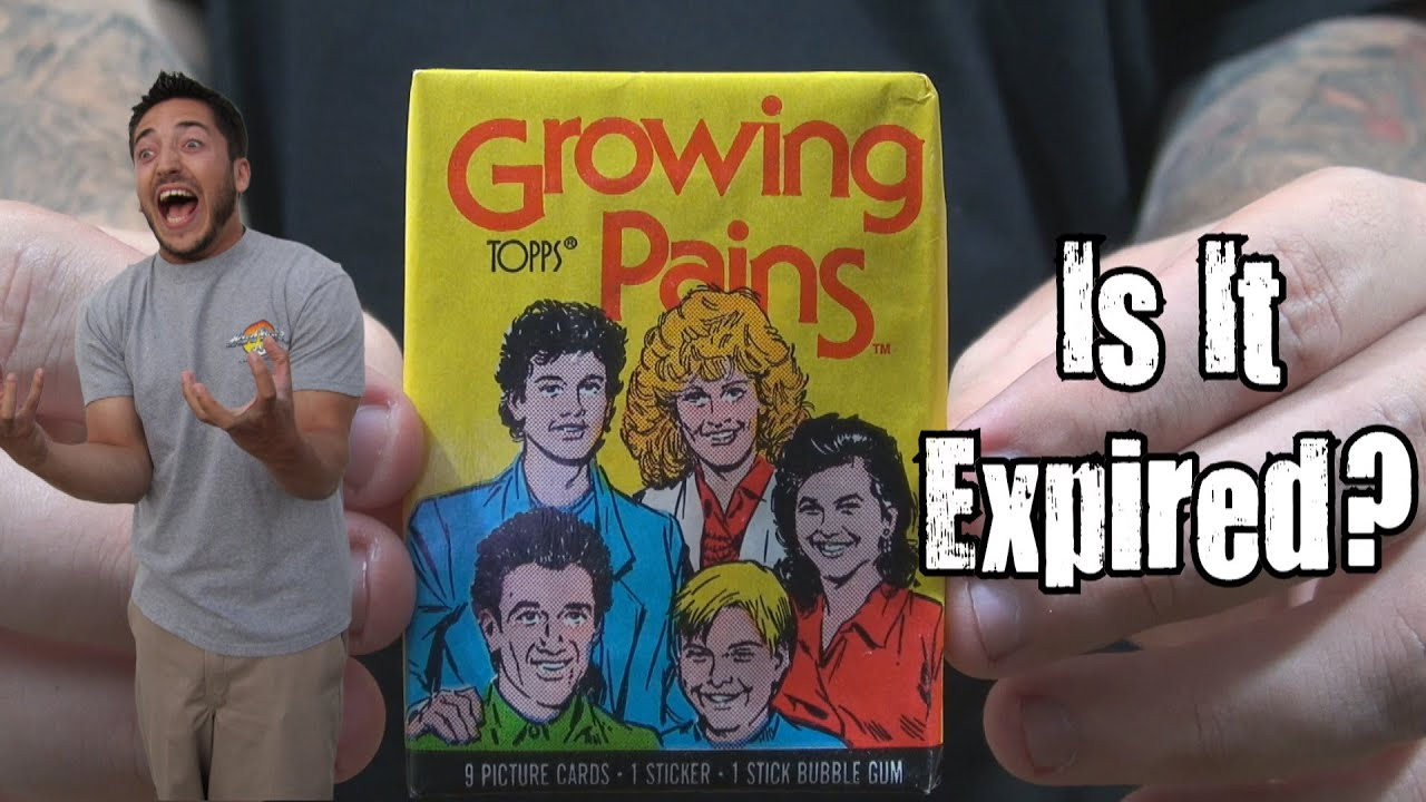 26 Year Old Growing Pains Trading Card Bubble Gum