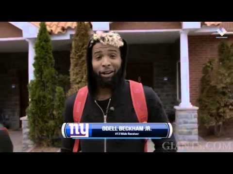 Thumbnail: Odell Beckham Jr.as he arrives for the first start of the Offseason Training WorkOut