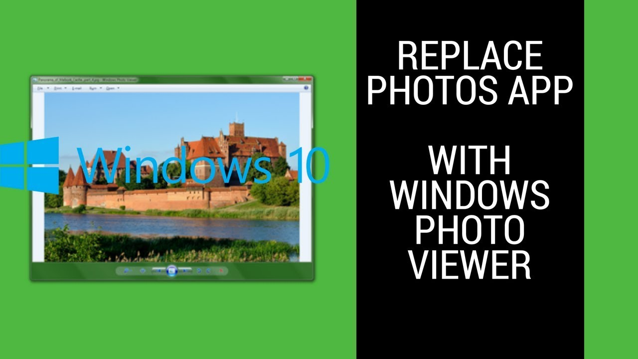 Turn On Windows Photo Viewer In Windows 10