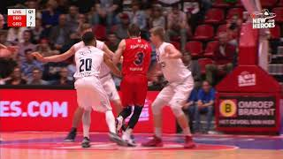 New Heroes Basketball vs Donar Groningen - 7 april 2018