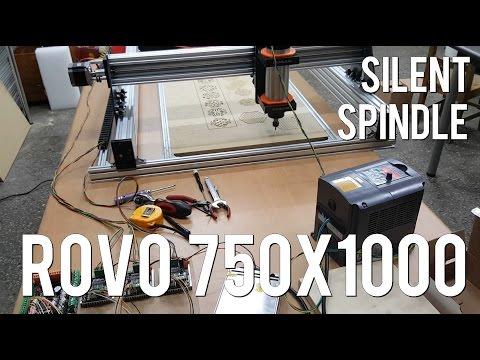 자작cnc rovo750x1000 오픈빌드 silent spindle