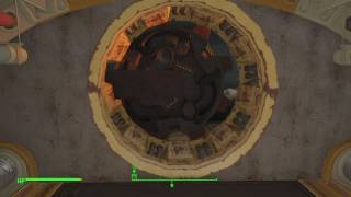 Vault 13 in Fallout 4: Vault-Tec Workshop - Entrance and First Floor