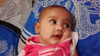 Bayi Lucu Dan Semangat Indonesia