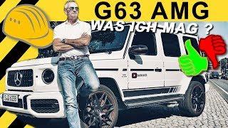 Der beste G aller Zeiten? G63 AMG Fazit nach 5.000 KM & 2500€ tanken!