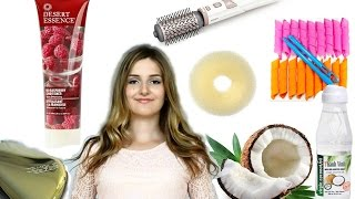 5 НАХОДОК ДЛЯ ВОЛОС. Лайфхаки. Как облегчить процесс укладки? Улучшить состояние и вид волос!?