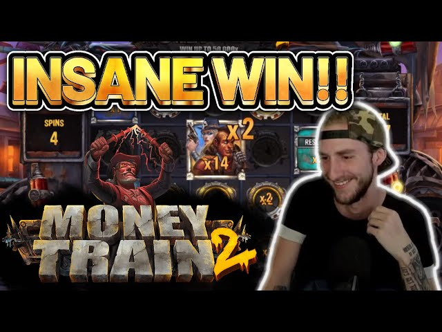 INSANE WIN! MONEY TRAIN 2 BIG WIN -  Online Slots from Casinodaddy LIVE STREAM