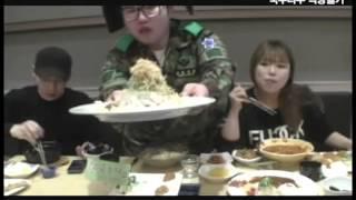 비룡 & 왕쥬 & 밴쯔 국수나무 먹방털기…