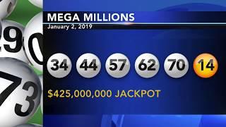Winning $425 million Mega Millions numbers drawn