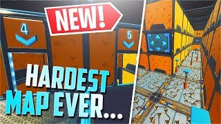 The HARDEST Parkour Map in Fortnite.... (w/Code)