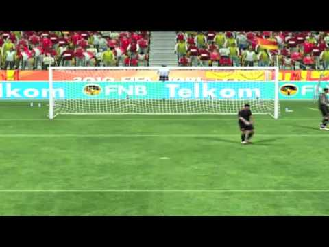 World Cup 2010 Spain vs Netherlands Finals Simulation