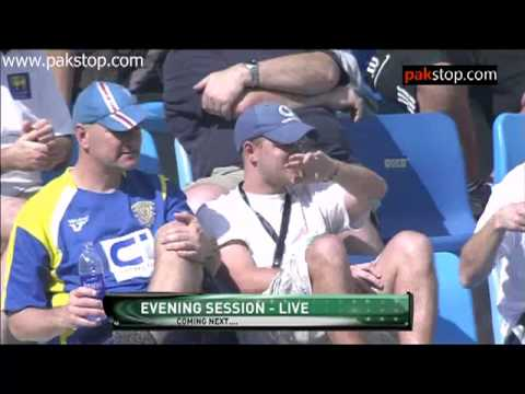 bob willis talking shit about ajmal after he took 7 wickets - that is action is illegal