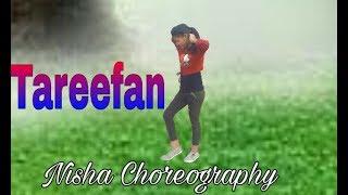 Dance on Tareefan Ft. Bhadsha || Nisha dance show Dance Choreography dvd