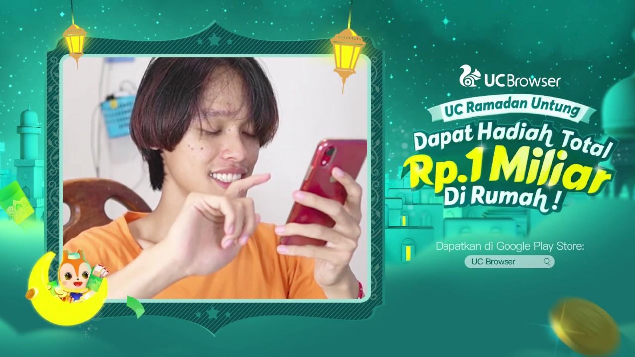 Yuk Seru-Seruan Bareng Sama UC Ramadan Untung Di Rumah!