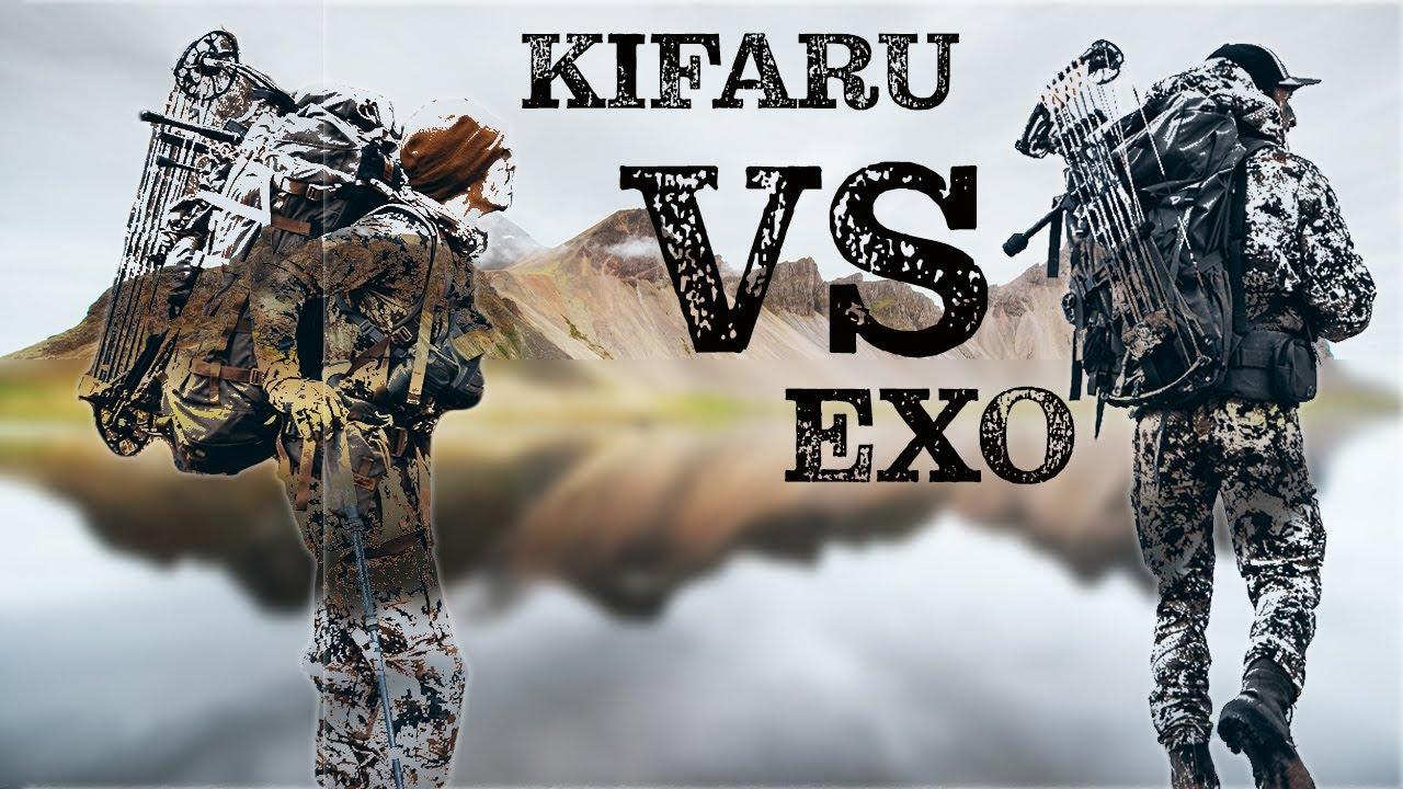 Kifaru VS EXO   Hunting Backpack Breakdown