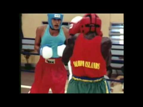 South Pacific Games 2003 Boxing  Solomon vs Tahiti Flyweight M2