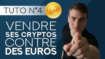 Vendre ses cryptos pour obtenir des euros € | Tutoriel débutant #4