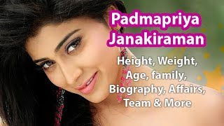 Padmapriya Janakiraman Height, Weight, Figure, Age, Biography & Wiki