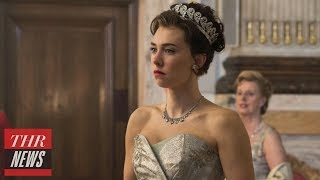 Emmy Update: Vanessa Kirby on 'The Crown' And New Princess Margaret Helena Bonham Carter | THR News