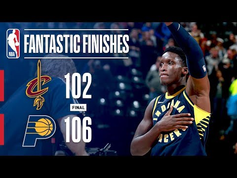 Clutch Moments Between the Cavaliers and Pacers | December 8, 2017