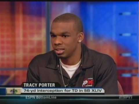 ESPN: NFL LIVE Interview with Tracy Porter