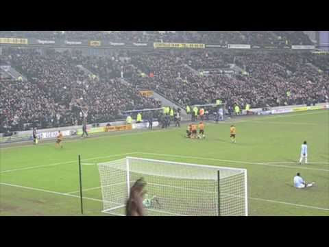 Hull City 2 Manchester City 1 06-02-10 - George Boateng Scores