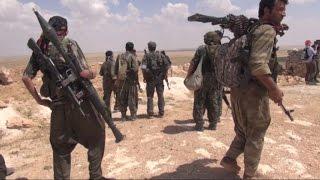 قوات سوريا الديموقراطية تتقدم باتجاه مدينة الباب