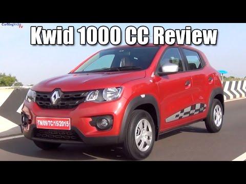 Renault Kwid 1000 CC RxT Review aka Renault Kwid1Litre