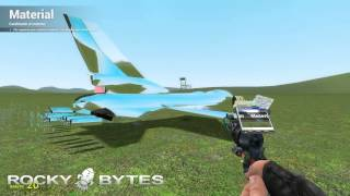 GMod for PC Download: How to Build / Make a Plane (Tutorial) - RockyBytes.com