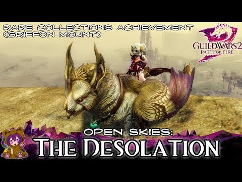 ★ Guild Wars 2 ★ - Open Skies: The Desolation achievement