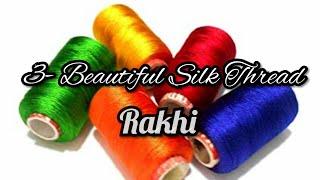 how to make Rakhi at home | DIY Rakhi | Raksha Bandhan | Silk thread Rakhi | Rakhi