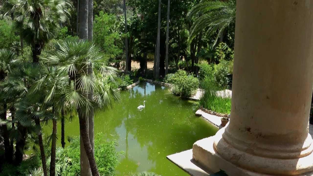 Gardens Of Alfabia Video 2 Mallorca Spain Youtube