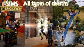 The Sims Medieval All Types of Deaths