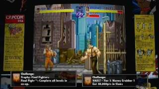 Final Fight Double Impact co-op gameplay - PSN