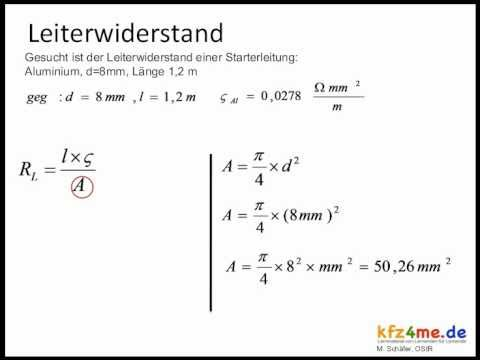 Leiterwiderstand from YouTube · Duration:  1 minutes 27 seconds